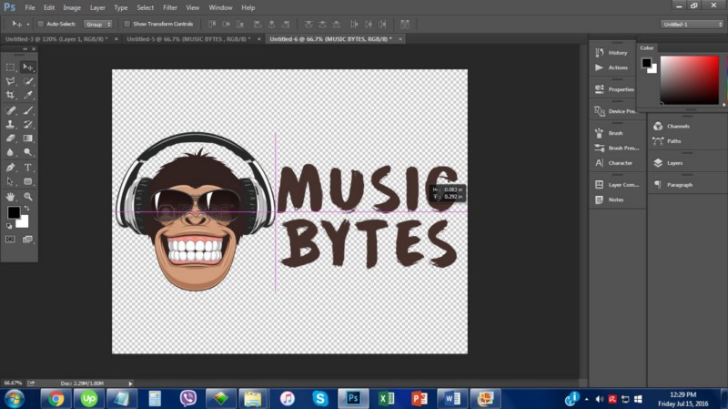 how to create a business logo in photoshop