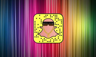 Snapchat Rainbow Text