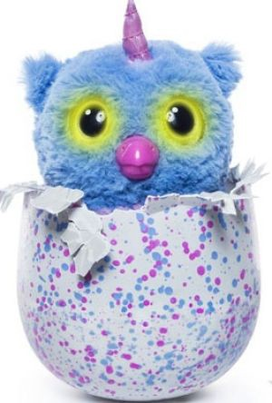 The hatchimal is able to