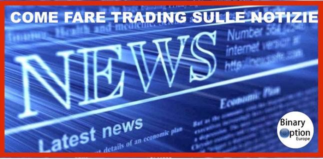 come fare trading sulle news