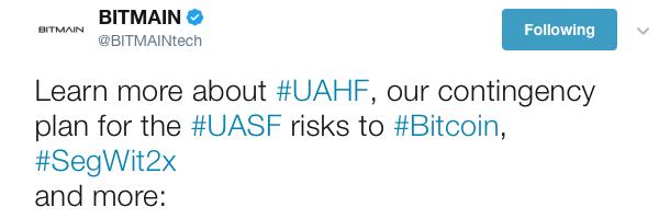 Bitmain Announces Hard Fork Protection Plan Against UASF
