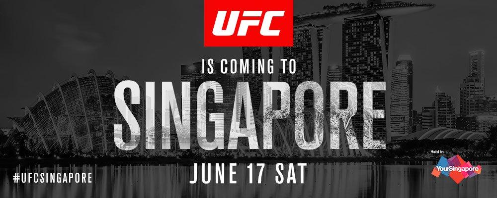 Stream UFC Singapore: Holm vs Correia Live Online