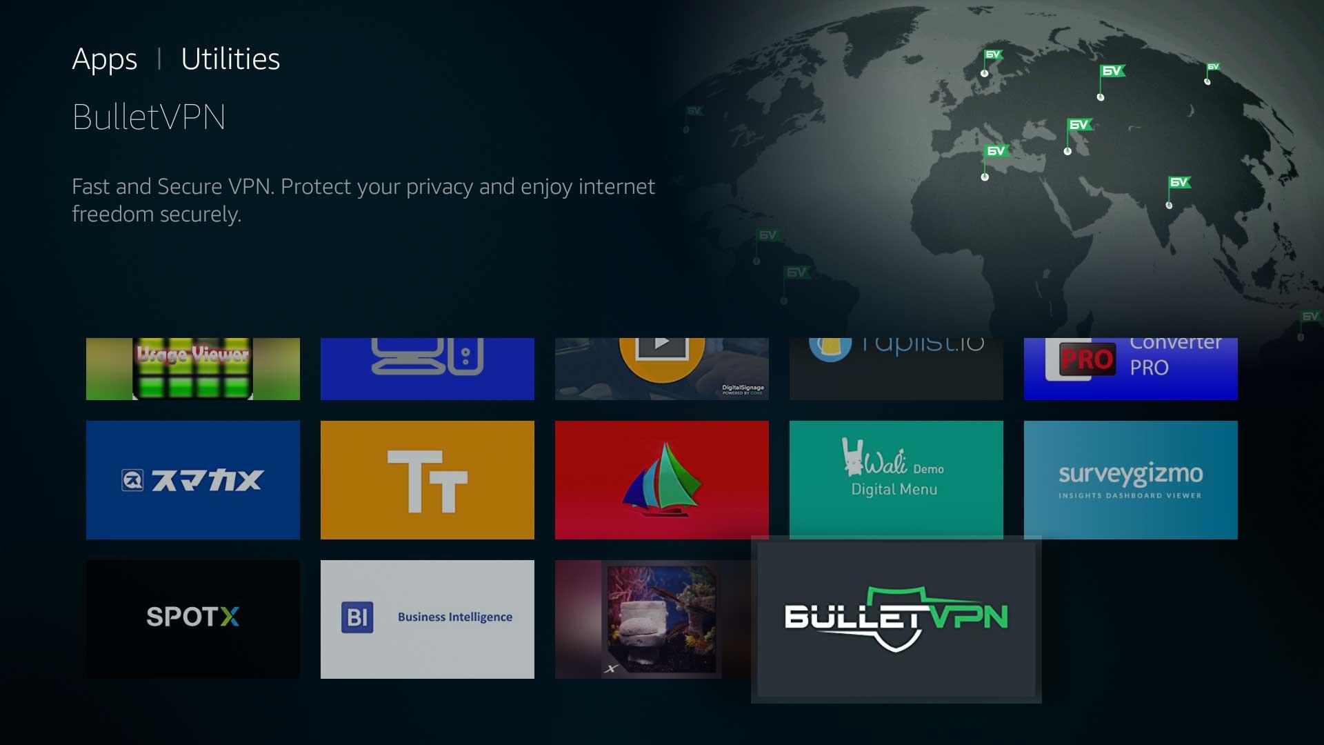 Select BulletVPN
