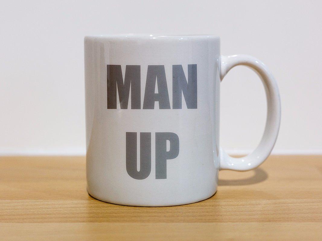 Man up   mug