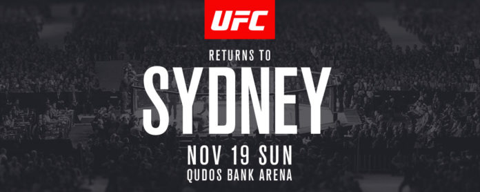 How to Stream UFC Fight Night Syndey Live