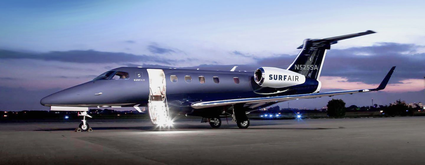 Surf Air Joins the Growing List of Private Airlines Accepting Bitcoin