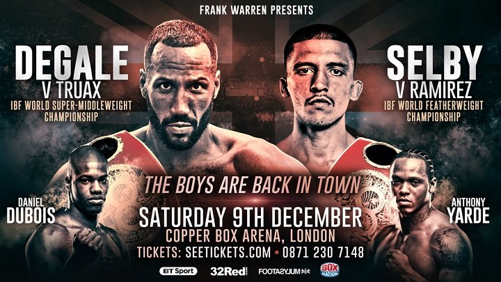 How to Watch DeGale vs Truax Live Online
