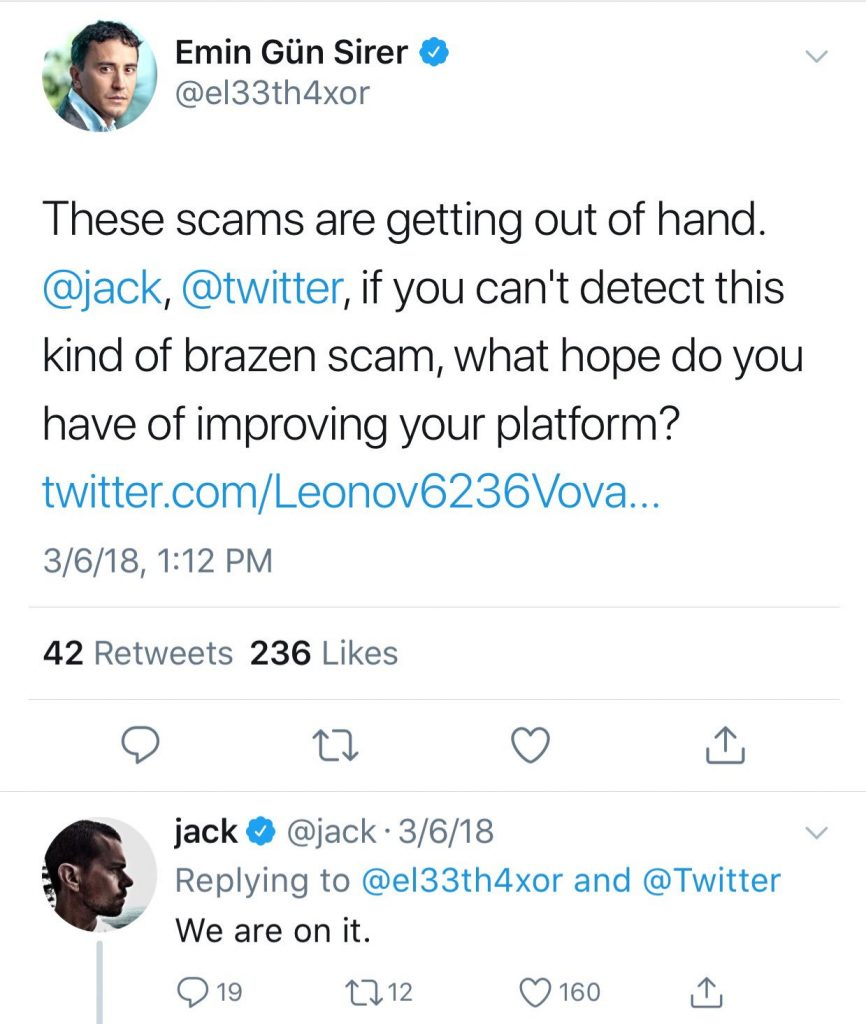 Twitter Experience Worsens, Ether Fake Giveaways Taking Over