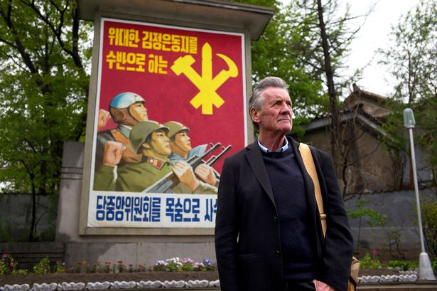 How to Watch Michael Palin in North Korea on Channel 5 Abroad