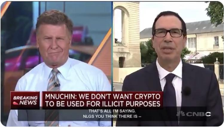 The Myth of Authority: Mnuchin Denies USD Is Used Criminally
