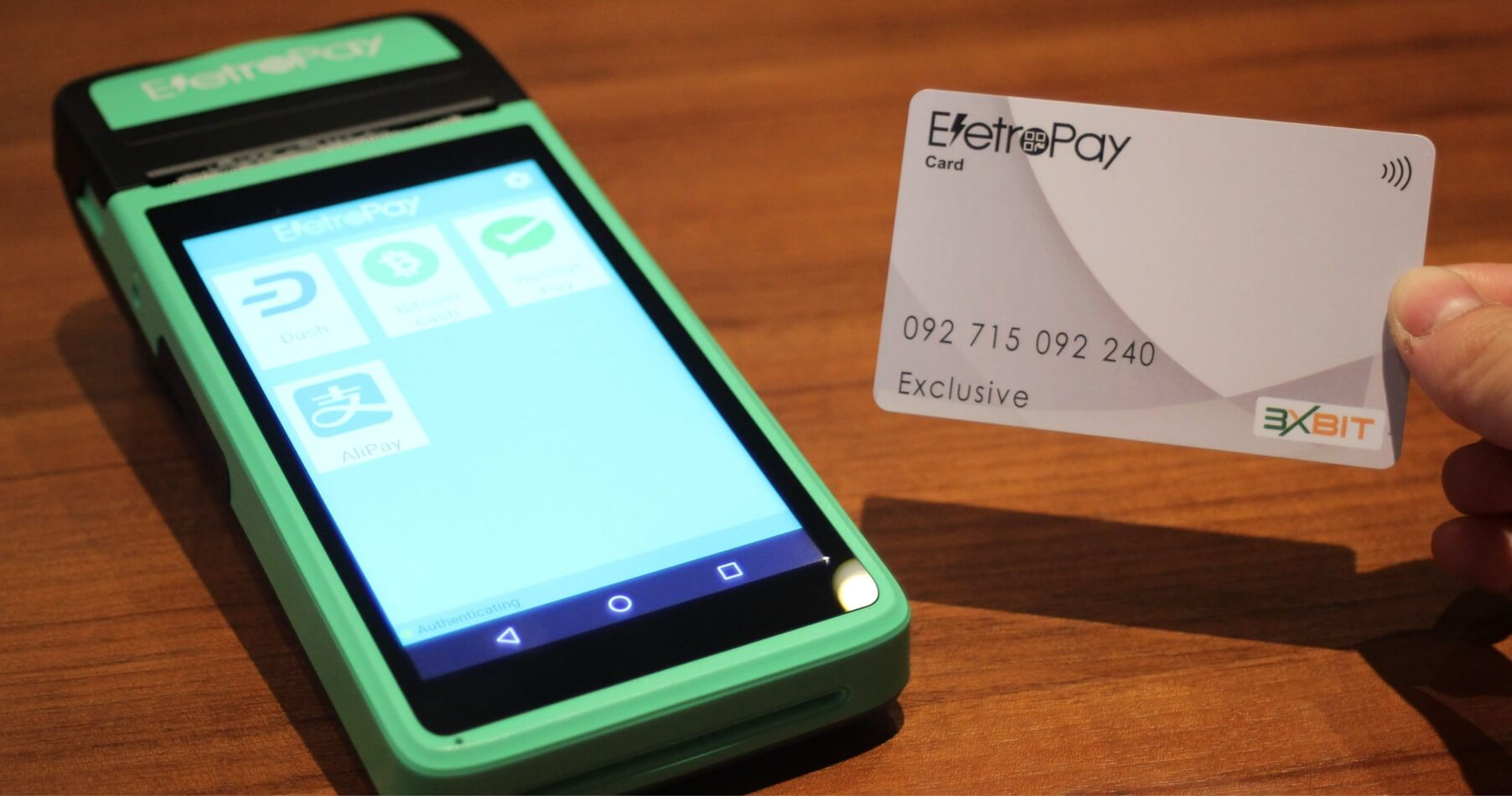 Meet the Crypto PoS Device Eletropay